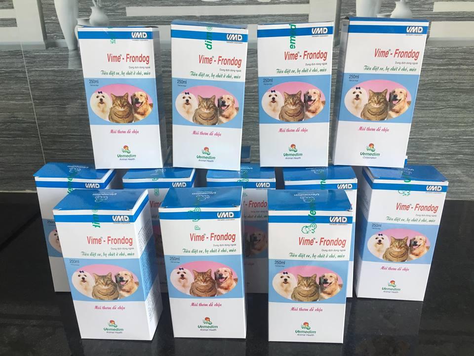 Trị ve rận cho chó becgie Bỉ bằng các loại thuốc càng sớm càng tốt